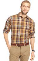 Bass Gh Small Plaid Heavyweight Mountain Twill Shirt - Lyst