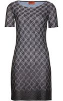 Missoni Metallic Crochetknit Dress - Lyst