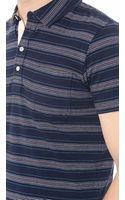 Billy Reid Pensacola Polo Shirt - Lyst