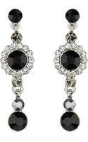 Mikey Small Drop Crystal Earring - Lyst