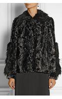 Anna Sui Ombré Faux Fur Coat - Lyst