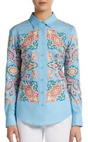 Robert Graham Hilton Cotton Voile Shirt - Lyst