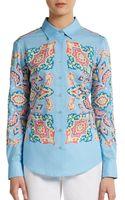 Robert Graham Hilton Cotton Voile Shirt - Lyst