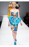 Moschino Giant Bow Fruit Loop Dress - Lyst