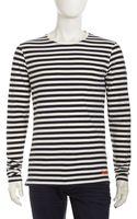 Superdry Jersey Striped Longsleeve Shirt - Lyst