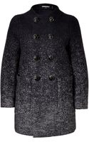 DSquared2 Wool Herringbone Color Fade Coat - Lyst