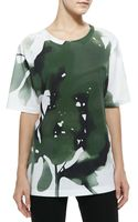 Jason Wu Abstract Floral Printed Tee - Lyst