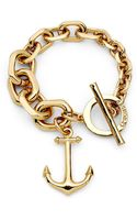 C. Wonder Anchor Graduated Link Bracelet - Lyst