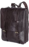 Lotuff Leather Leather Backpack - Lyst