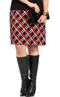 Jones New York Collection Plus Size Printed Ponte Pencil Skirt - Lyst