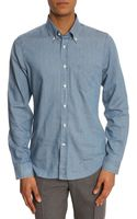 Gant Rugger Chambray Luxury Indigo Shirt - Lyst