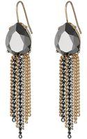 Jessica Simpson On The Fringe Stone Earrings - Lyst