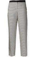 By Malene Birger Tilak Stripe Trouser - Lyst