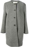 Fendi Tweed Coat - Lyst