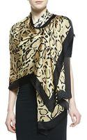 Gucci Lynn Leopardprint Silk Stole - Lyst