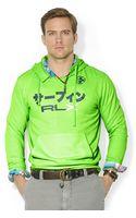 Polo Ralph Lauren Polo Rlx Neon Fleece Pullover Hoodie - Lyst