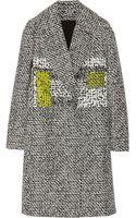 Diane Von Furstenberg Nala Woven Coat - Lyst