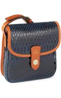 Dooney & Bourke Crocodile Textured Crossbody Bag - Lyst