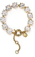 Lauren by Ralph Lauren Round Crystal Flex Bracelet - Lyst