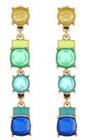 Kate Spade Cause A Stir Linear Earrings - Lyst