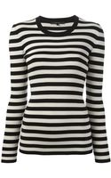 Gucci Ribbed Tshirt - Lyst
