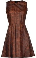 Mauro Gasperi Short Dress - Lyst