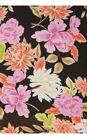 Forever 21 Dark Floral Chiffon Dress - Lyst