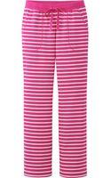 Uniqlo Women Lounge Pants Stripe - Lyst