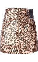 Kenzo Broken Floor Skirt - Lyst
