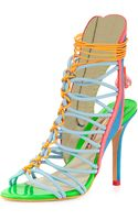 Sophia Webster Lacey Strappy High-heel Sandal - Lyst