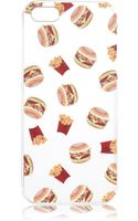 River Island White Fast Food Print Iphone 5 Case - Lyst