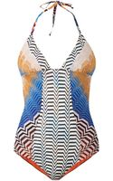 Missoni Mare Reversible Crochetknit Swimsuit - Lyst