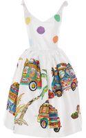 Stella Jean Embroidered Attinia Dress - Lyst