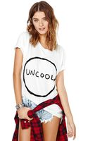 Nasty Gal Lost Your Cool Tee - Lyst