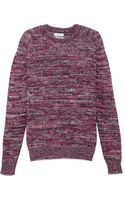 Richard James Mixed Yarn Sweater - Lyst