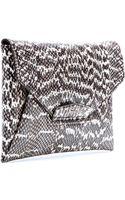 Givenchy Antigona Snakeskin Envelope Clutch - Lyst