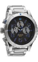 Nixon The 4820 Chronograph Midnight Gt Watch 48mm - Lyst