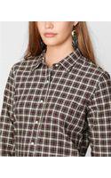 Denim & Supply Ralph Lauren Plaid Boyfriend Shirt - Lyst