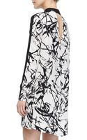 A.L.C. Isley Printed Mockneck Dress - Lyst