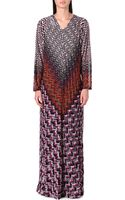 Missoni Long-sleeved Knitted Dress - Lyst