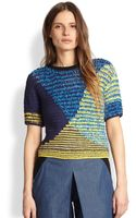 Risto Colorblock Striped Chunkyknit Sweater - Lyst