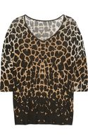 Temperley London Printed Jersey Top - Lyst
