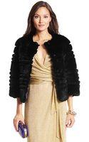 Diane Von Furstenberg Talia Fur Chubby Coat - Lyst