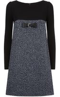 Paule Ka Tweed Shift Dress - Lyst