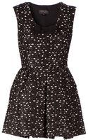 Giambattista Valli Bow Patterned Dress - Lyst