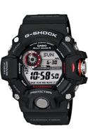 G-shock Mens Digital Rangeman Black Resin Strap Watch 54x55mm 1 - Lyst