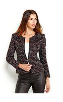 Lafayette 148 New York Petite Black Tweed Jacket - Lyst