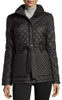 Marc New York By Andrew Marc Fiona Quilted Belted Jacket - Lyst