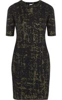M Missoni Jacquard Knit Wool Blend Dress - Lyst