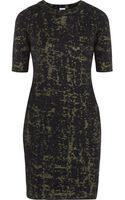 M Missoni Jacquard Knit Wool Blend Dress - Lyst